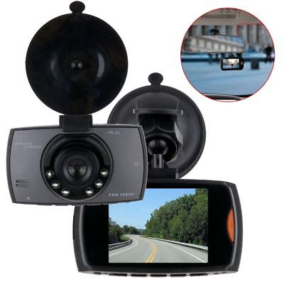 "2.7"" 1080P HD Lens 170° Car Vehicle Dash Cam Camera DVR Night Vision Recorder CA"