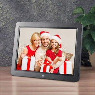 """12"""" HD TFT LED Wide Screen Digital Picture Frame Support Wireless Remote #B"""