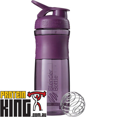 Blender Bottle Sport Mixer 825Ml Plum Protein Shaker Cup Sportmixer 28 Oz  Gym