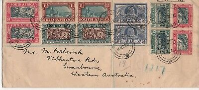 SOUTH AFRICA - Registered First Day Cover from December 1938