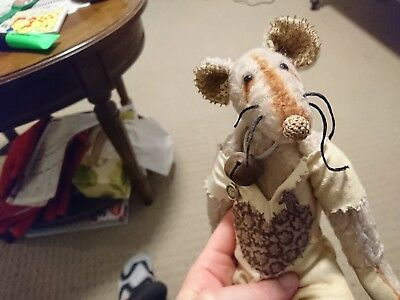 Mohair collectable rat