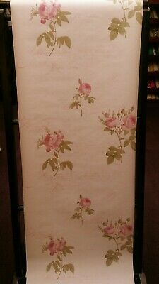 Pretty Shabby Chic, Floral Rose Wallpaper