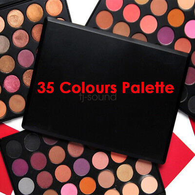 New 35 Colous Pigmented Makeup Palette Eyeshadow 35O 35F 35W 35T Nature Glow
