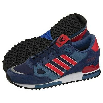 adidas Originals ZX 750 Navy Red White Mens M18260 Trainers Size UK 6.5 - 12