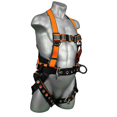 Warthog® MAXX Full Body Harness Quick Adjust Torso buckles with TB & Legs Straps