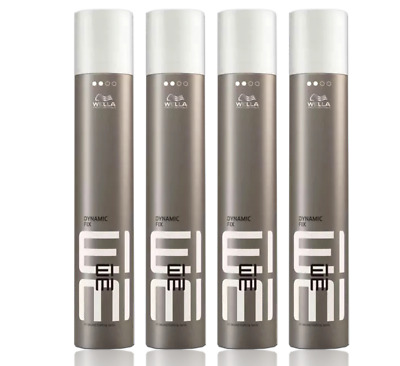 Wella Eimi Dynamic Fix 45 Sekunde 4 x 500 ml Modelier Spray Set OVP