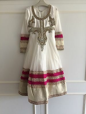 Girls Asian Wedding Clothes Dress Size 24 (3-4 Years)