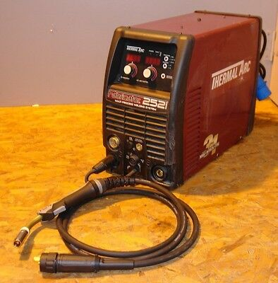 Thermal Arc Fabricator 252i 3 in 1 MIG STICK AND TIG welder