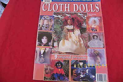 cloth dolls magazine paper patterns instructions toys teddy bears