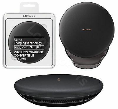 Samsung Qi Wireless Charger Convertible Pad For Galaxy S8 Plus NOTE 8 iPhone 8
