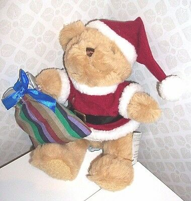 SANTA BEAR by The Teddy Bear Collection - Father Christmas soft toy NEW