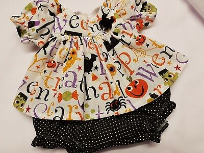 Halloween Print Outfit for My Child Doll #2
