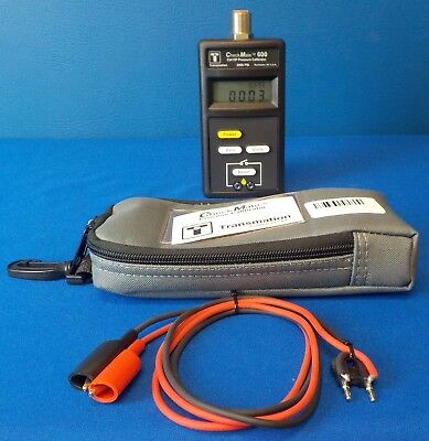 Transmation CheckMate 600 Pressure Calibrator 2000PSI 23415P