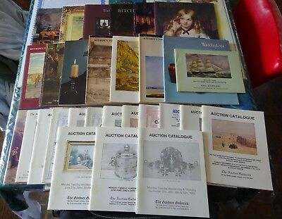 Large Lot of 27 Auction Catalogs Waddington`s, Sotheby`s, Ritchies, Gardner`s