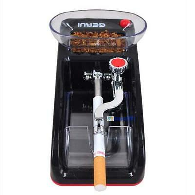 DIY Electric Automatic Cigarette Rolling Machine Tobacco Injector Make Roller FG