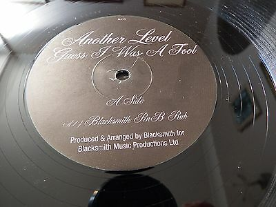 "Another Level - Guess I Was A Fool  - 12""single - Promo"