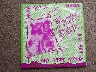 New &unused  Fuzzbox Etched L.p.  Rules And Regulations