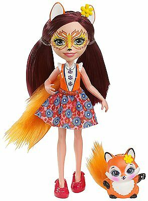 Enchantimals ~ Felicity Fox Doll & Flix Fox Pet
