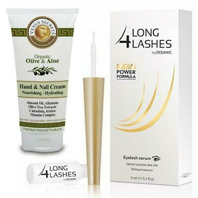 Long4lashes Wimpernserum FX5 Eyelash Serum 3ml + gratis Handcreme