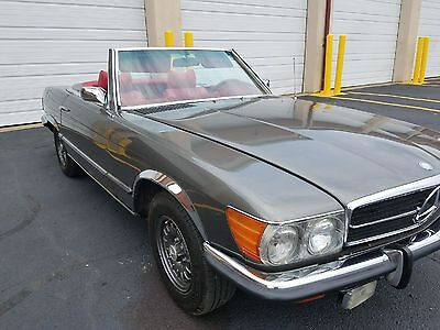 1973 Mercedes-Benz SL-Class 2 door 1973 Mercedes- Benz 450SL