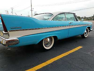 1957 Plymouth Belvedere sport 1957 Plymouth Belvedere 2 doors Sports Coupe