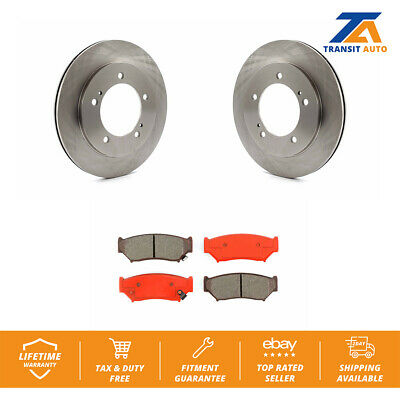 Semi Metallic Brake Pads with 2 Years Manufacturer Warranty Both Left and Right Stirling 2004 For Mazda 6 Rear Set