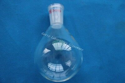 250ml Pyrex Glass Recovery Flask, Rotary Evaporator Flask 24/40 joint heavy wall