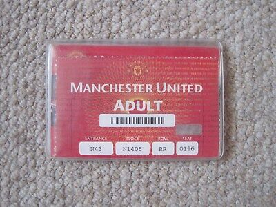 Manchester Utd 1998-99 Voucher Book Treble Year