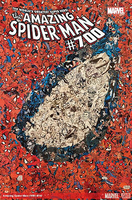 Amazing Spider-Man #700 (February 2013, Marvel) 1st Print Death Spidey Doc Ock!