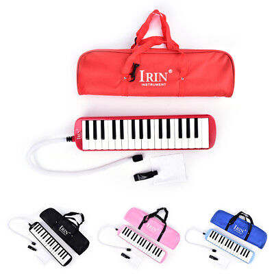 4Colors Portable 32 Piano Key Melodica Student Harmonica Music Instrument w/BagK