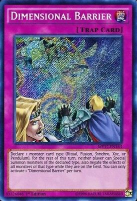 Dimensional Barrier (MP17-EN163) - Secret Rare - 1st Edition