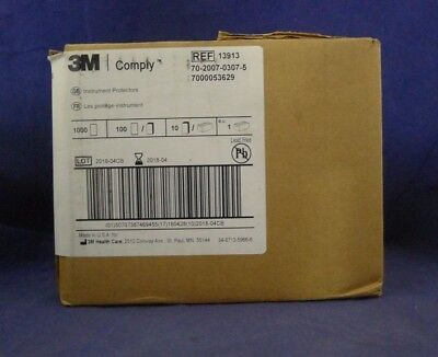 3M 13913 Comply Instrument Protectors Box of  1000 NEW