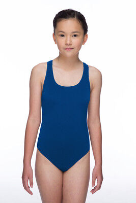 Maru Solid Pacer Open Back Junior - Blue - 8/9 yrs