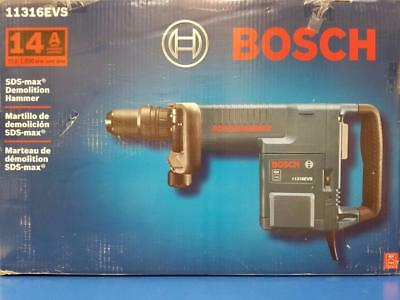 Bosch 14 Amp Corded SDS-max Variable Speed Demolition Hammer Aux Handle Case NEW