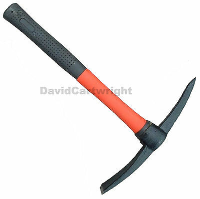 Neilsen 500g Mini Mattock Fibreglass Handle Shaft PickAxe Pick Axe Point Chisel