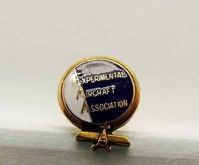 Vintage Experimental Aircraft Association Tie Tac Pin Free Shipping!
