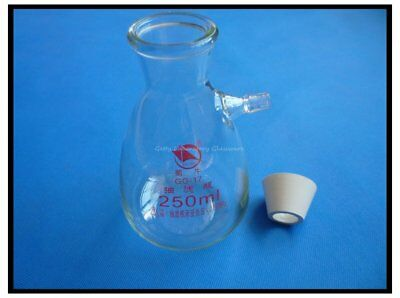 250ml Buchner Filting Flask, Heavy Wall, Borosilicate Glass Material, with Match