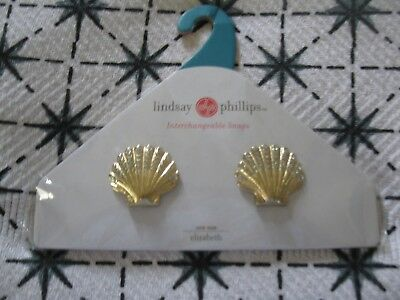 Lindsay Phillips Pair of Elizabeth Shoe Snaps Rare & Cute! Last One!  NIP