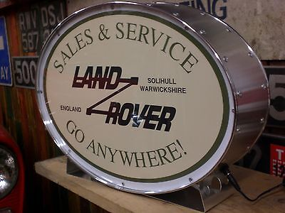 Land rover,series,4x4,defender,off road,mancave,lightup sign,garage,workshop,5