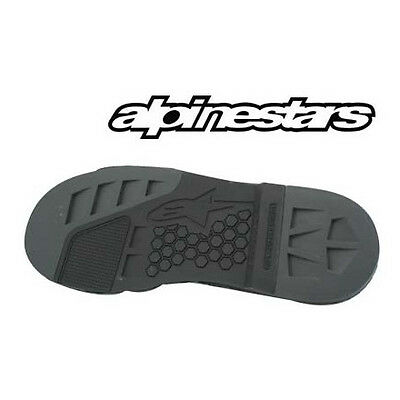 alpinestars tech 8 motorcycle boot replacement sole size 12 and/or 13