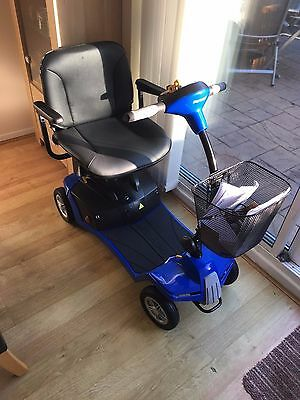 BRAND NEW Shoprider Mikra Travel Carboot Mobility Scooter Blue