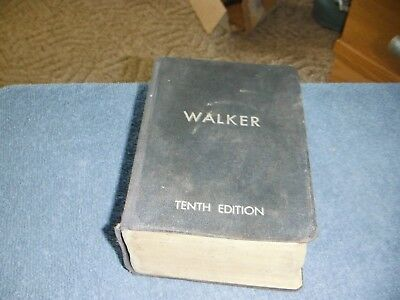 The Building Estimators Reference Book TENTH Edition Frank R Walker 1948 VG