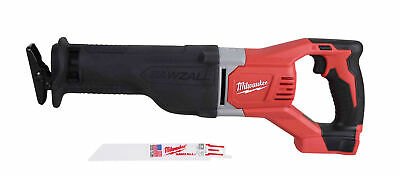 Milwaukee 2621-20 M18 18 V Li-Ion Cordless Sawzall Reciprocating Saw (Tool Only)