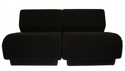 Herman Miller Chadwick Modular Seating (2 units) in Rare Black Mint Condition