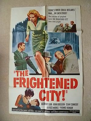 The Frightened City-  Original Us 1 Sheet - 27 X 41 Inches