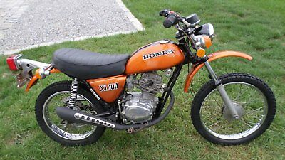 1974 Honda Other  1974 HONDA XL100 ENDURO ON/OFF PIT BIKE CAMPGROUND CRUISER BEACH BIKE BACK OF RV