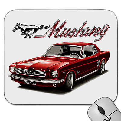 66'  Mustang  Coupe   289 V8             Mouse Pad