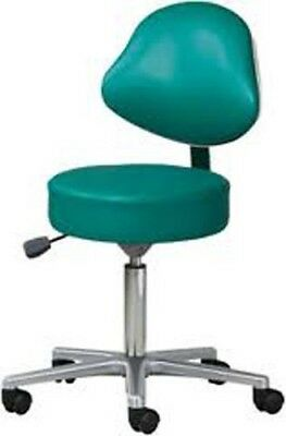 Pro Advantage 5 Leg Spin Stool Lift Stool w/depth adjustable backrest