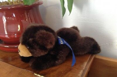 """Bank of the West 8"""" Bear Plush with Ribbon"""