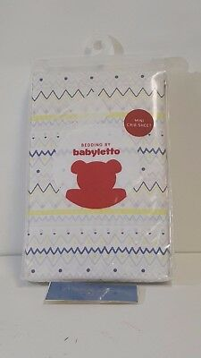 NEW! babyletto Desert Dreams Fitted Mini Crib Sheet - T11045 FREE SHIPPING